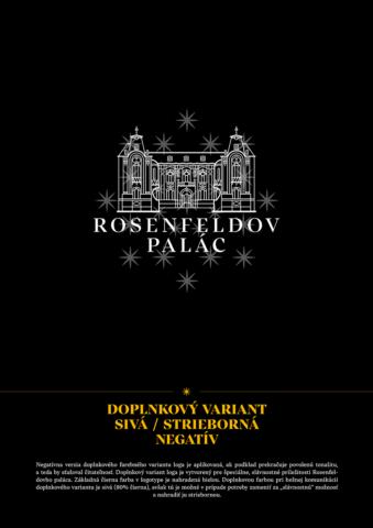 vizuálna identita rosenfeldov palác žilina
