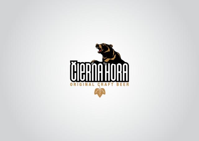 logotyp čierna hora pivo