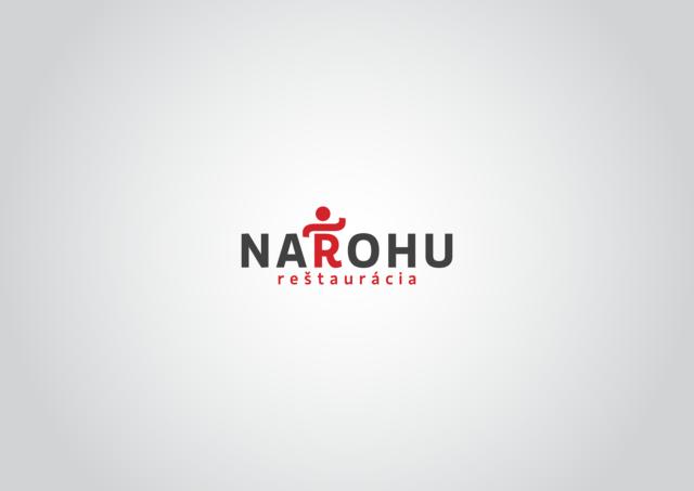 logotyp reštaurácia na rohu