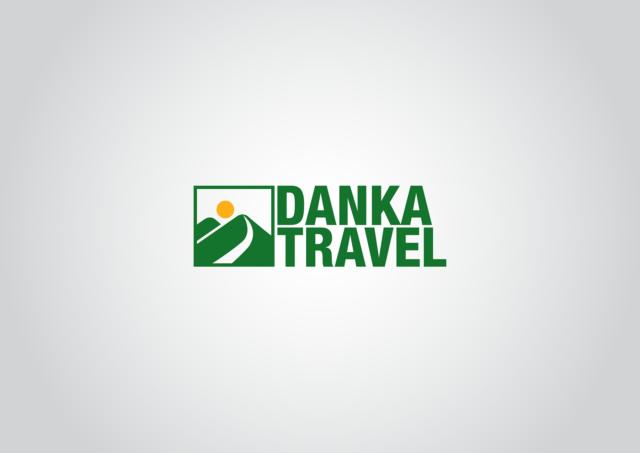 logotyp danka travel