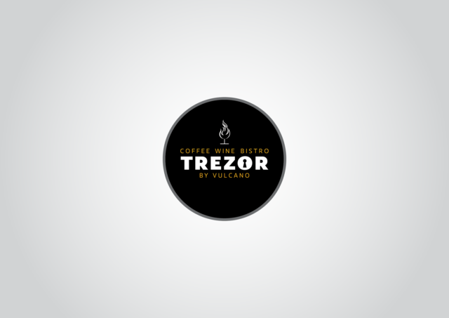 logotyp bistro trezor