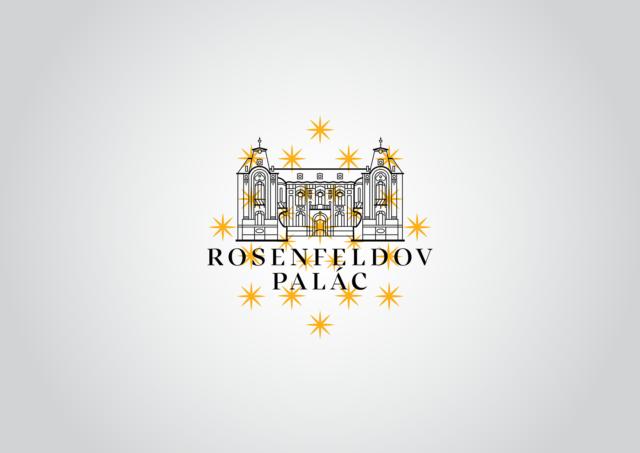 logotyp rosenfeldov palác žilina