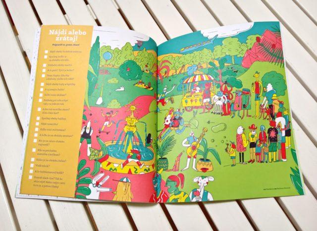 číslo 1 detský časopis bublina