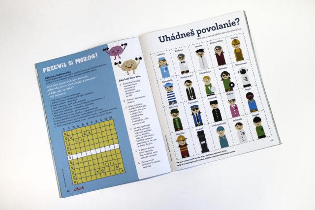 slovenský dizajnový časopis Bublina pre deti